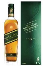 Виски J. Walker Green Label Грин Лэйбл 15 лет 0.7л