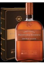 Виски Woodford Reserve Double Oak Вудфорд Резерв в коробке 1л