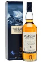Виски Talisker 10 YO Талискер 10 лет в коробке 1л