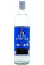 Ром King Robert White Rum Кинг Роберт Сильвер 1л