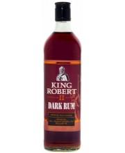 Ром King Robert Dark Rum Кинг Роберт Черный 1л