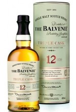 Виски Balvenie Triple Cask 12 YO Балвени Трипл Каск 12 лет, в тубе 1л