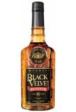 Виски Black Velvet Reserve 8 YO Блэк Вельвет Резерв 8 лет 1л