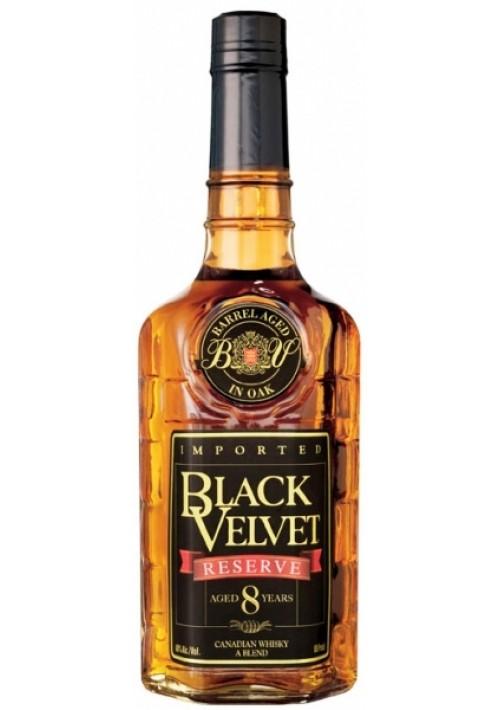 Виски Black Velvet Reserve 8 YO Блэк Вельвет Резерв 8 лет по выгодной цене!