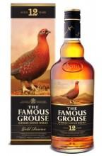 Виски Famous Grouse Gold 12Y  Фэймос Граус голд 12 лет 1л