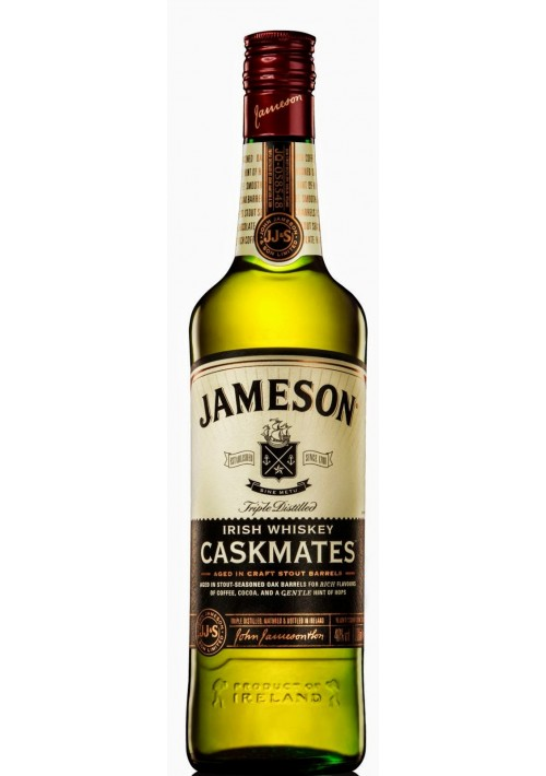 Виски Jameson Caskmates Джемесон Каскмейтс на Пивных Бочках 1л