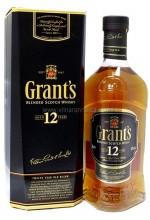 Виски Grant's 12 YO Грантс 12 лет 1л