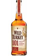 Виски Wild Turkey Бурбон Дикая Индейка 1л